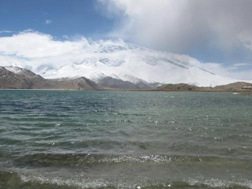 Lake Karakul waters
