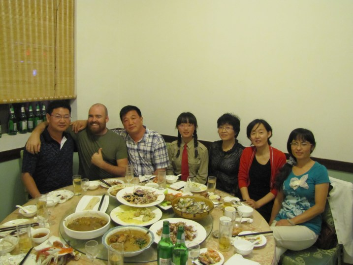 Chinese dinner party