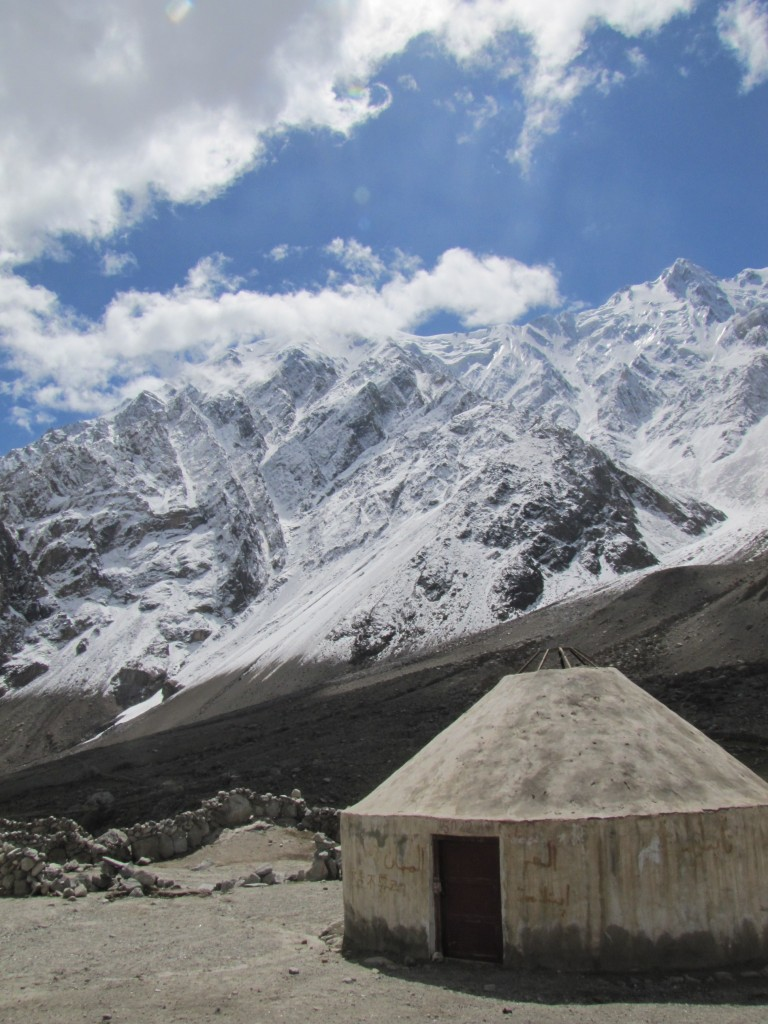 yurt mountains karakoram highway xinjiang
