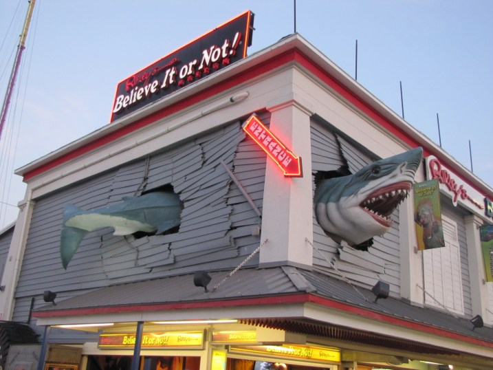 Ripley's Believe it or Not on the Ocean City Boardwalk