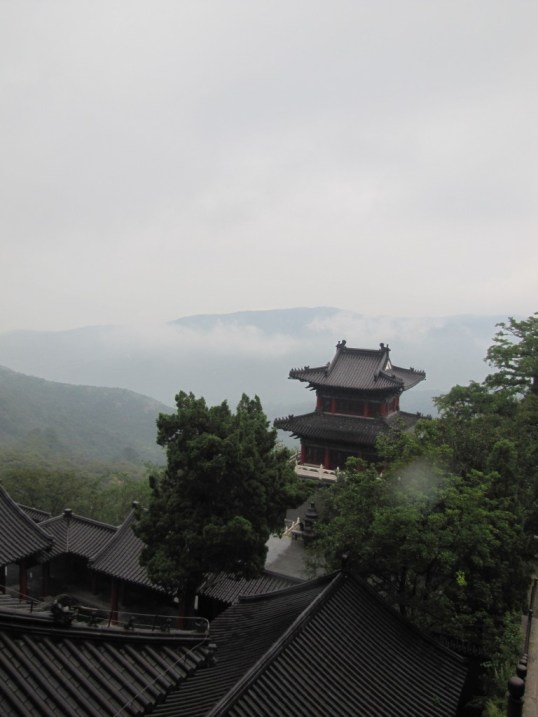 Fog on HuaGuo Shan