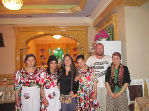Xinjiang restaurant, Kashgar