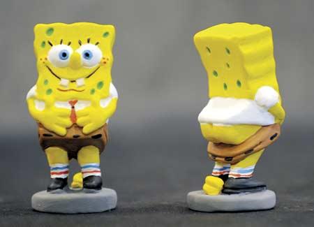 Spongebob Caganer