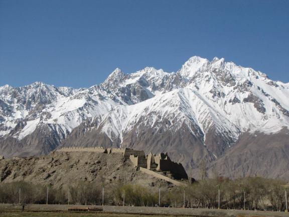 The Stone Fort in Tashgorkan, Xinjiang