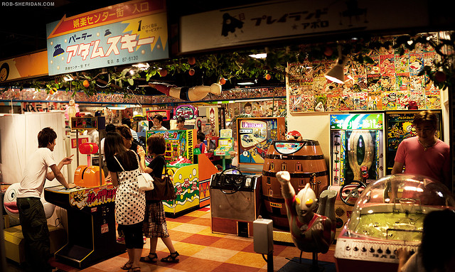 Japan does arcades in a way that nobody else can
