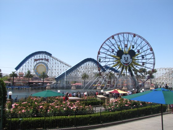 The Santa Monica Pier/Boardwalk inspired Paradise Pier has some fun rides - particularly California Screaming and the rocking Ferris Wheel.