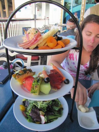 Fantastic appetizer platter. Sweet Lord.
