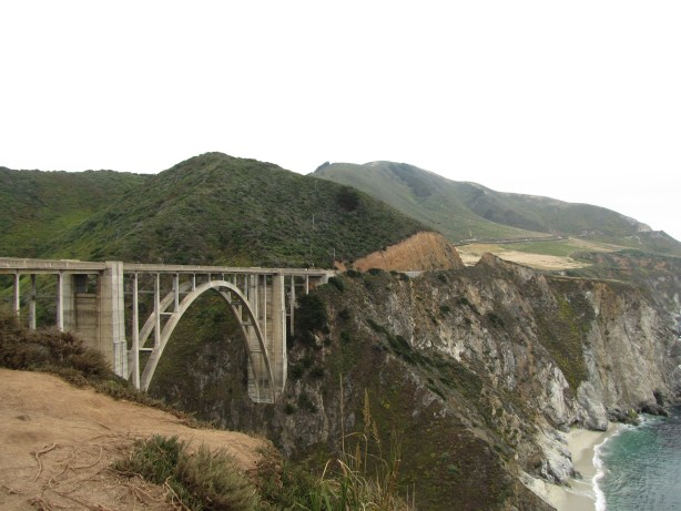 Bixby Bridge has got to be right up there with the Golden Gate and Sydney Harbour as one of the most visually stunning bridges on earth.