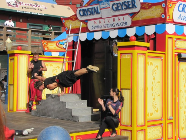 One of several live performances we saw while at the Pier