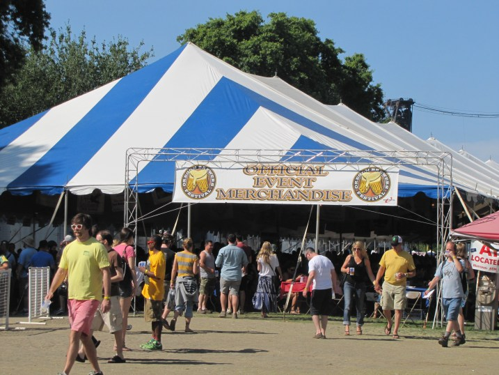 The Oregon Brewers Festival. It's like I've died and gone to heaven.
