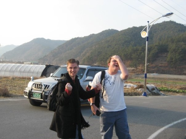 Mike and I visit Unjusa; my first temple in Korea.