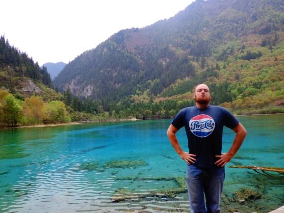 Looking buff at Jiuzhaigou
