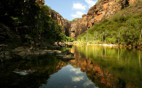 Kakadu is something of an oasis in the harsh Aussie climate. Photo from SMH