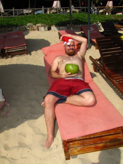 A very sexy Merry Christmas to you from Hainan, China