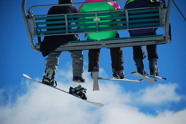Ski lifts are few and far between in Australia, but they've got 'em in the Snowy Mountains. Photo by Fran Tapia.