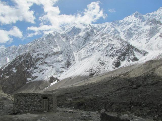 A yurt high up on the mountains along the Karakorum Highway. You won't find this on the east coast!