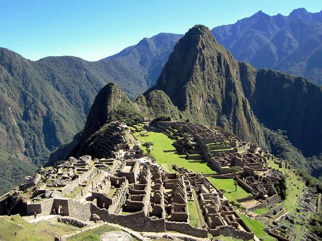 The Hiram Markham train finishes at world famous Machu Picchu. Photo by David Stanley.