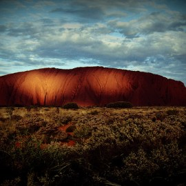 Uluru (or Ayers Rock) is one of Australia's most famous sites.