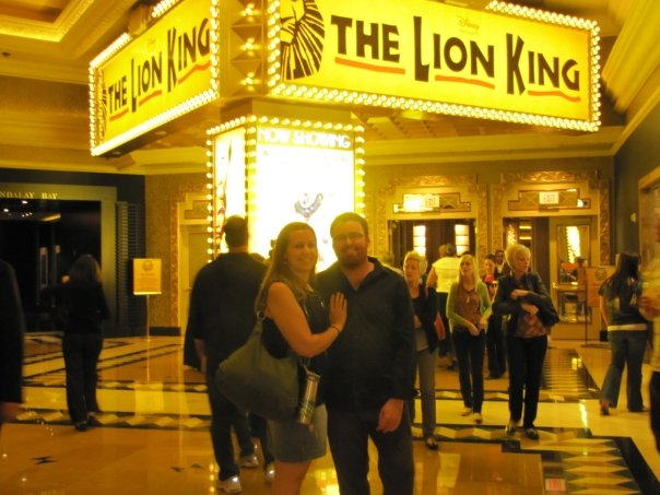 The closest I'd previously been to a lion was in Las Vegas...