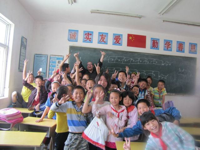 Volunteering with disadvantaged children in China remains one of my favourite memories of my time there.