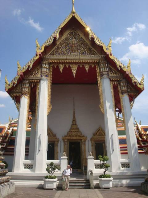 The Thai Grand Palace is one of the country's most iconic sites.