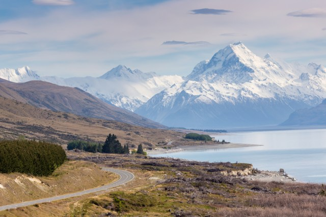 Mount Cook and the surrounding plains ought to look familiar.