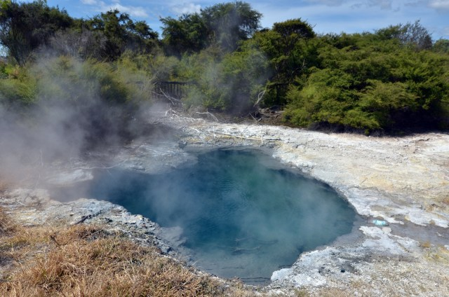 Rotorua's hot springs draw people from across the world, but I found what lies beneath a lot more fun.