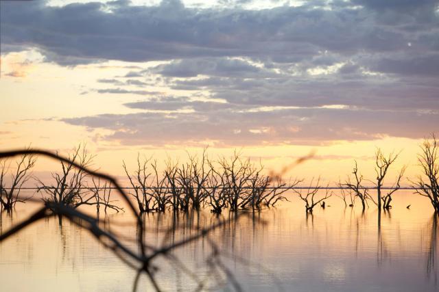 Australia doesn't do lakes often, but when we do...