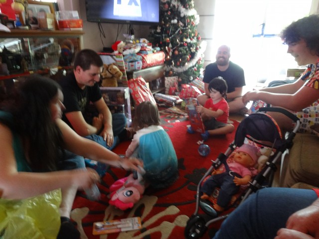 Being home for Christmas was a real thrill for me, and one I hope to repeat this year.