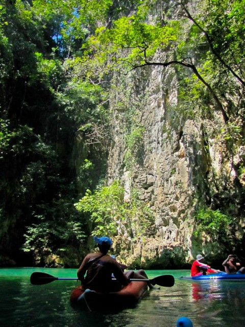 Canoeing through Koh Phang Nga was a highlight for me, even battling food poisoning.