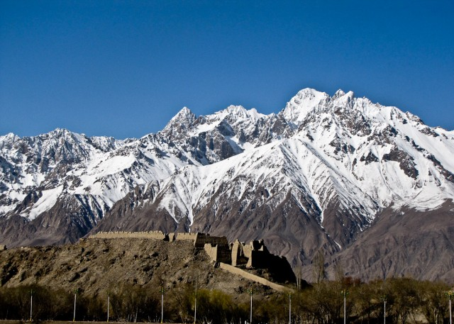 The aptly named Stone Fort in Tashgorkan, Xinjiang.