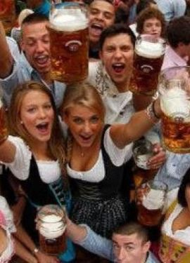 german girls oktoberfest