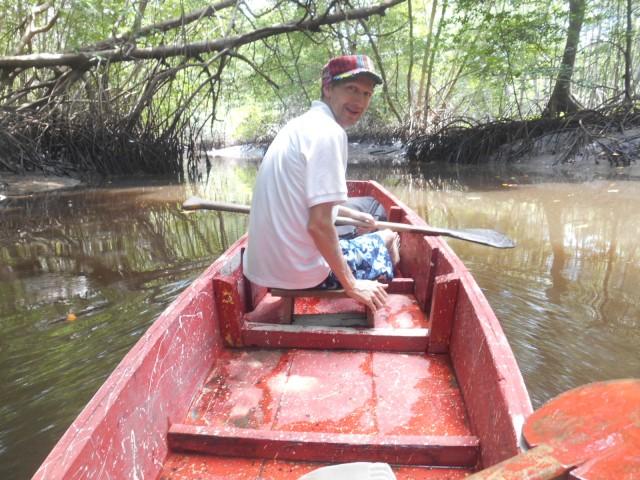 boat mangroves el salvador