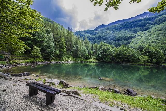 Parco del Frignano Emilia Romagna Italy- Lake Santo View