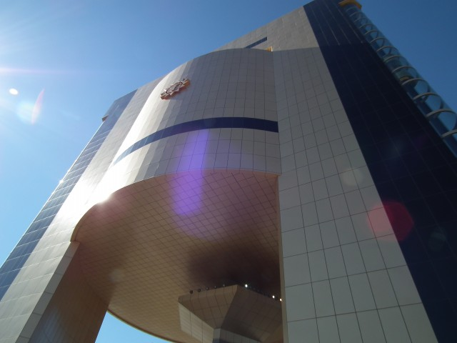 The futuristic Memorial Museum is certainly eye-catching.
