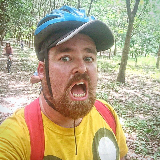 It was about 5km into the 30km exploration of Koh Yao Noi that I began to fear I'd bitten off more than I could chew.