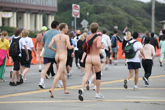 bay to breakers nude run san francisco