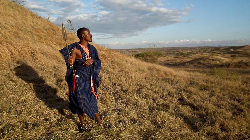 masai man tanzania