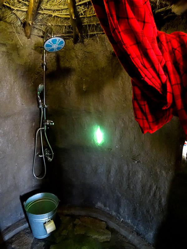 africa amini masai shower