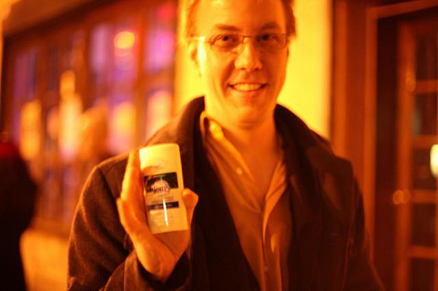 deodorant safe travel hack