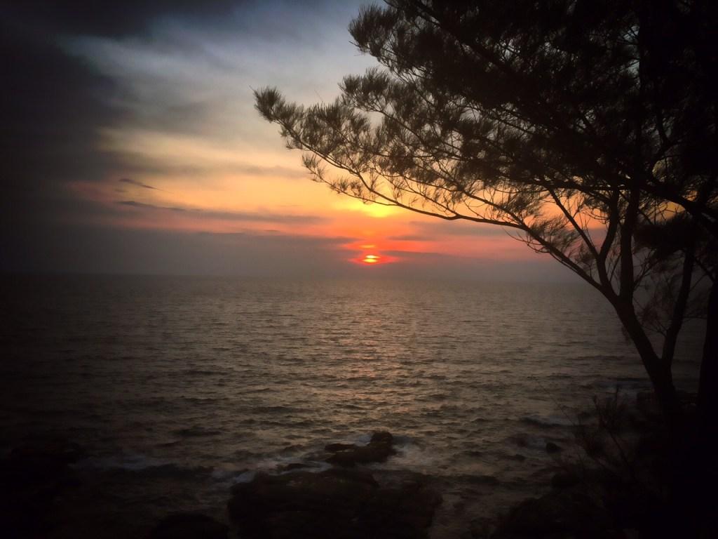 kudat sunset borneo sabah malaysia