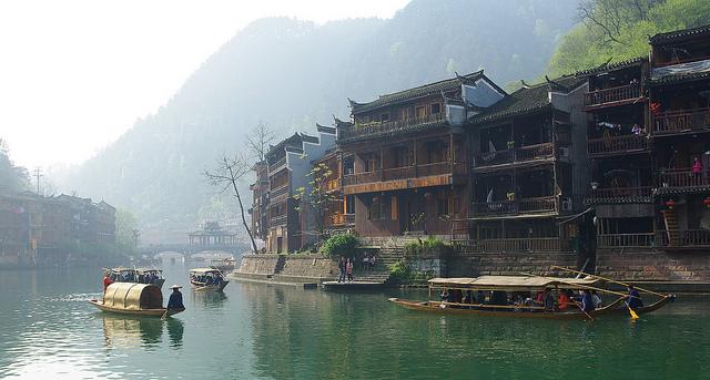 fenghuang water town phoenix village