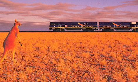 Australia-train