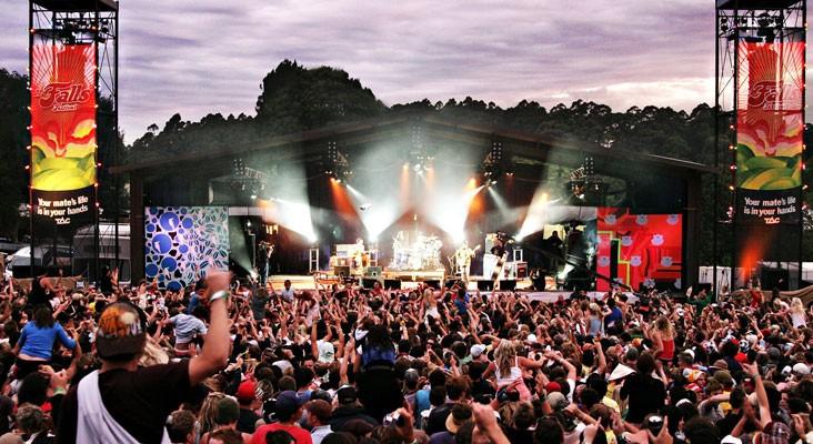 falls festival tasmania