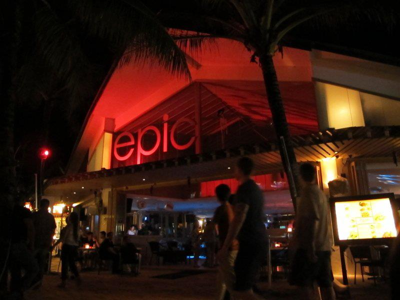 epic nightclub boracay philippines