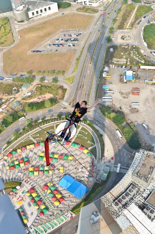 bungee jump macau