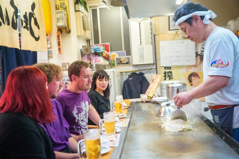 Hiroshima bar hopping tour