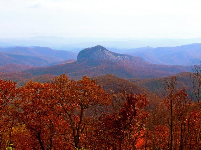 asheville pisgah forest blue ridge mountains