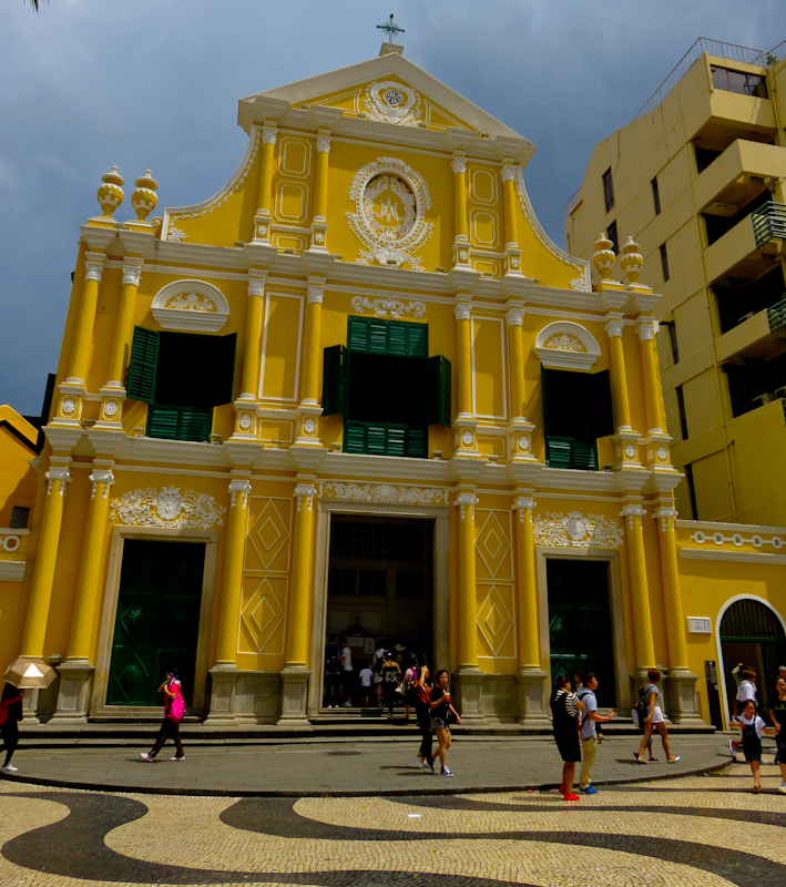 macau one day itinerary st dominic cathedral