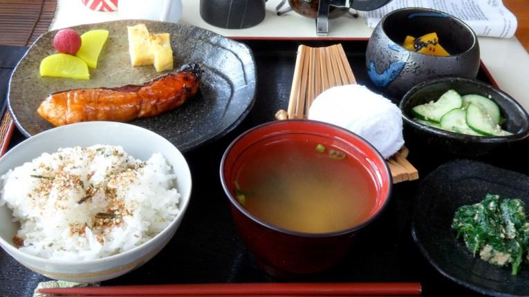 ryokan meal kumano kodo
